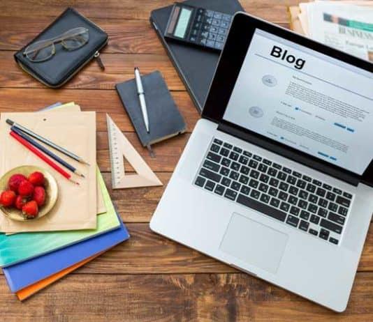 blogging webdesign